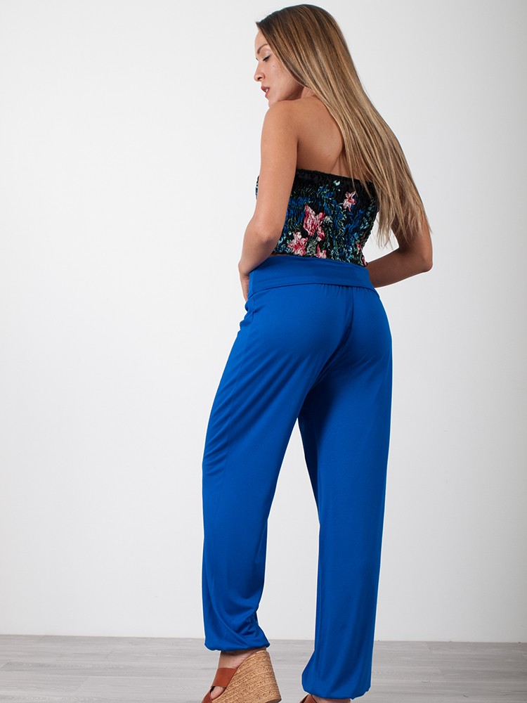 a76b65757d4 Γυναικείο παντελόνι σαλβάρι με λάστιχο | Ρουά [-17%]