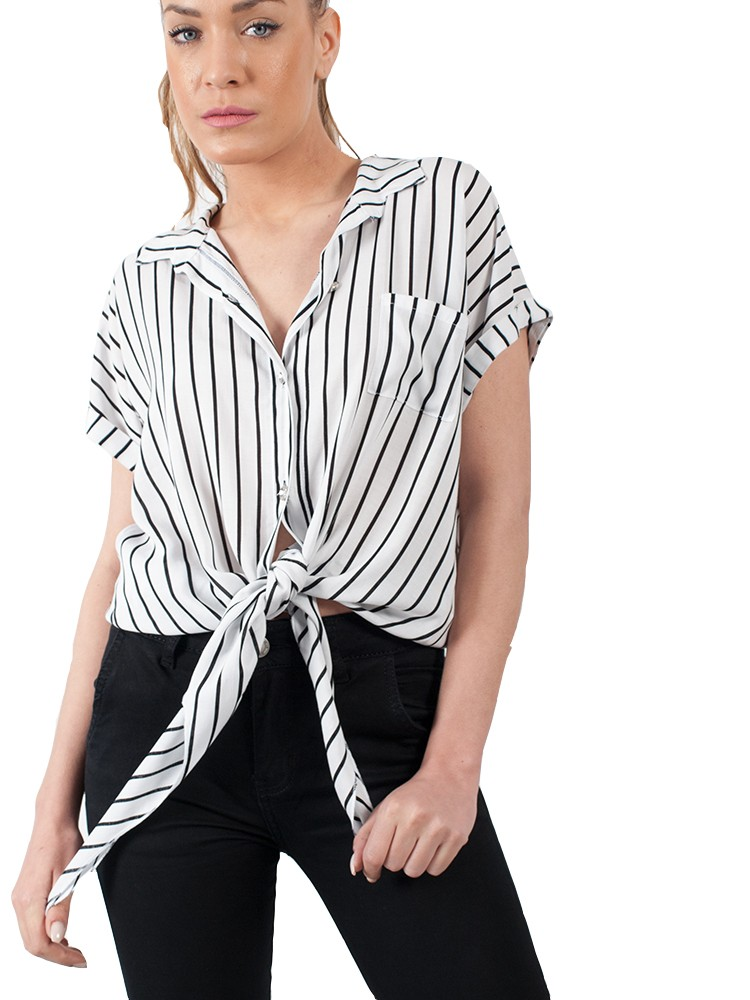 08686d76d244 Γυναικείο πουκάμισο δετό